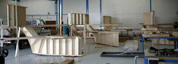 Staircase assembly workshop