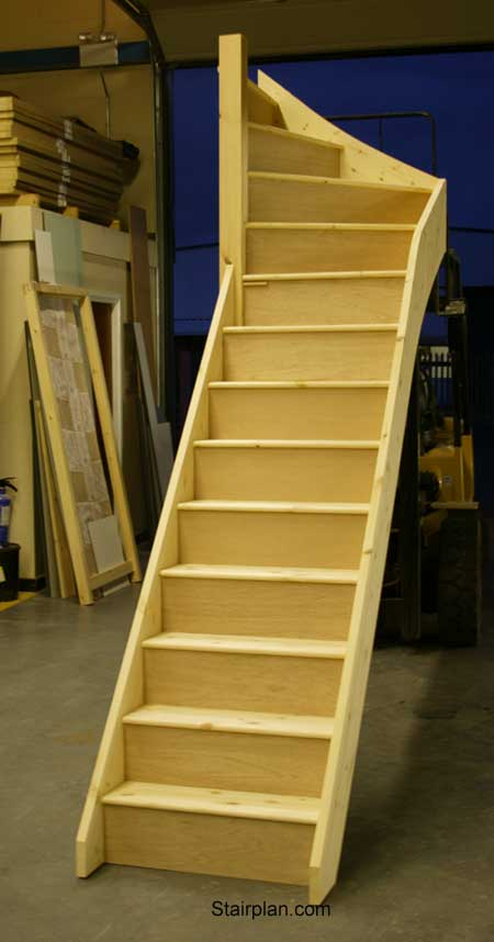 Winder Staircases From The Wooden Staircase Specialists