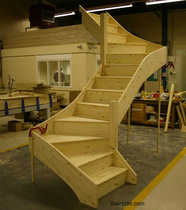 z form staircase